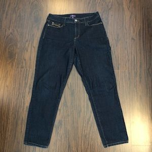 NYDJ Jeans Ankle Size 10 Lift Tuck Tech 30x28